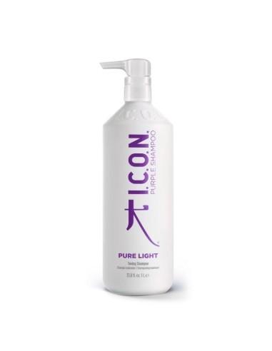 ICON Pure Light Champú Matizador de...