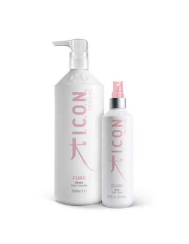 ICON PACK CURE | Champú 1L. + Spray