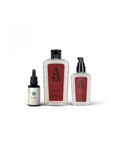 ICON Mr. A PACK Anticaida Champú-Elixir-CBD