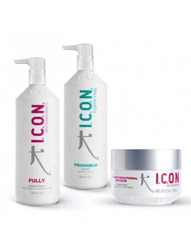 ICON PACK Proteinas Fully + Proshield+ Infusion