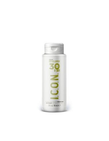 ICON Oxidante Cream Developer 30 VOL 90ml.