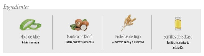 Ingredientes Acondicionador Free