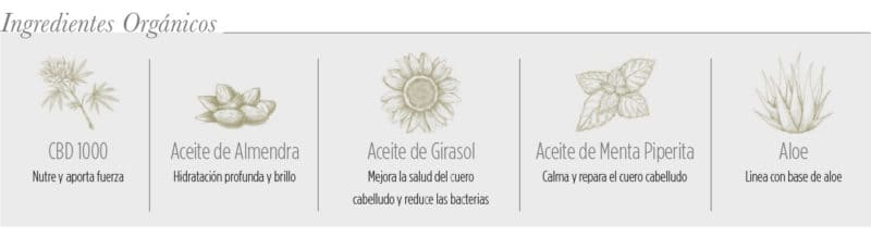 Ingredientes Acondicionador Organics